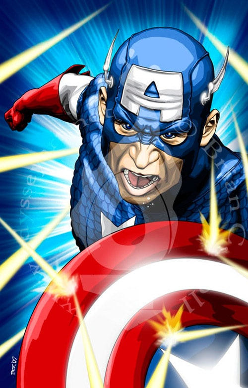 Captain America 2 by odysseyart