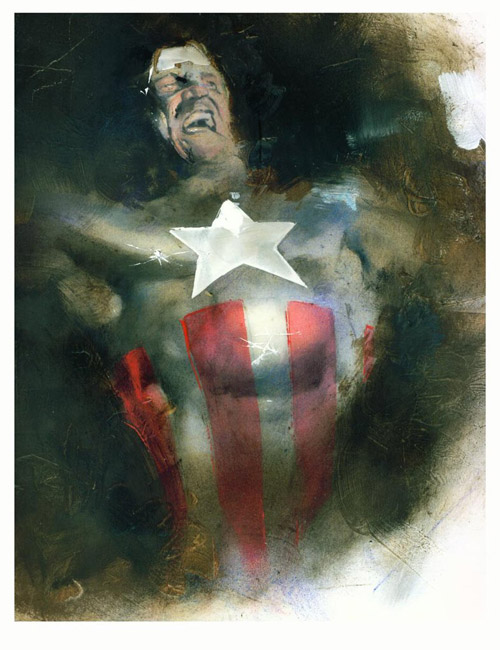 Captain America by sneedd