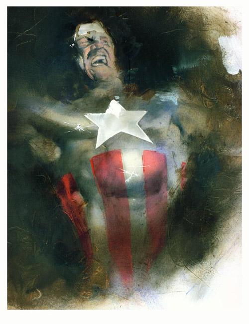 Captain America by sneedd