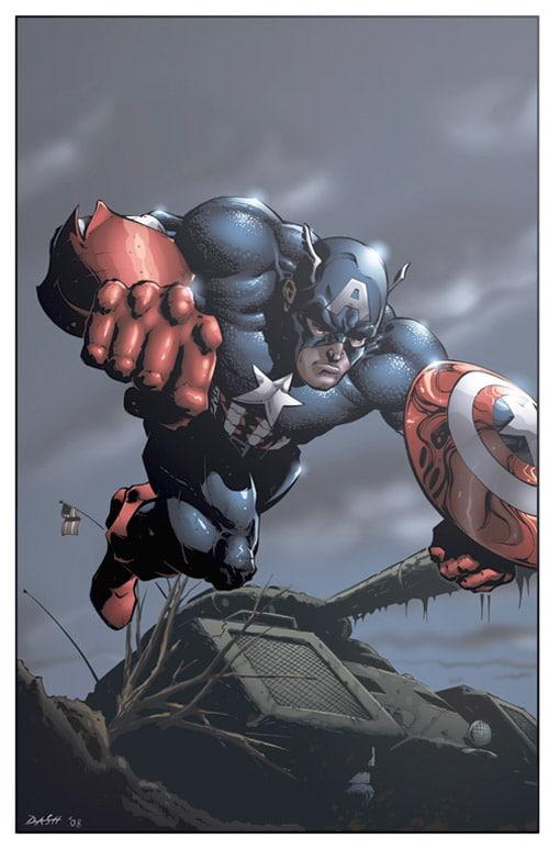 Captain America by DashMartin