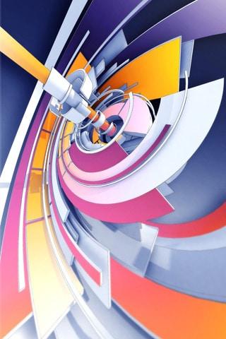 Trendwhore Twirl iPhone Wallpaper