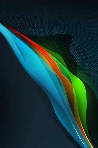 ColorWave iPhone Wallpaper
