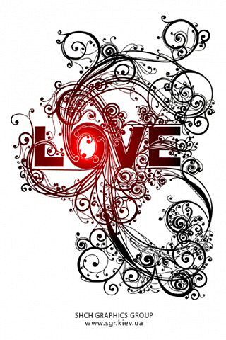 Love Art iPhone Wallpaper