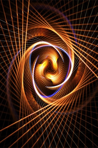 Twisting And Turning iPhone Wallpaper
