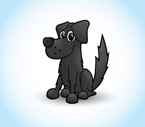 How To Draw a Cute Vector Dog Character in Illustrator