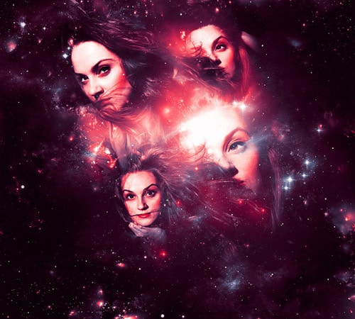 Create a Magical Four Piece Stardust Composition