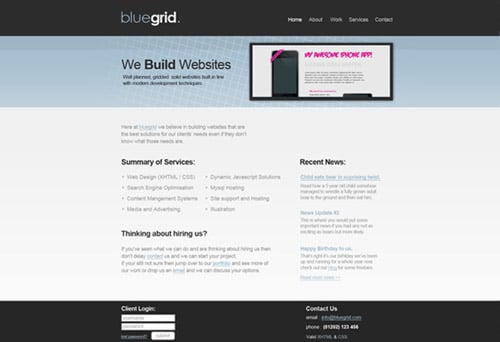 Design a Clean Web Layout with the 960 Grid