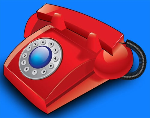 How to Create a Classic Table Phone in Illustrator