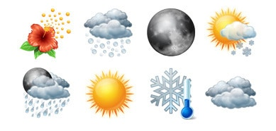 Vista Weather Icons