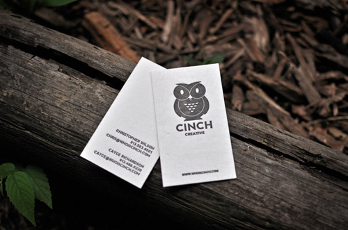 Business Card for: Cinch Creative