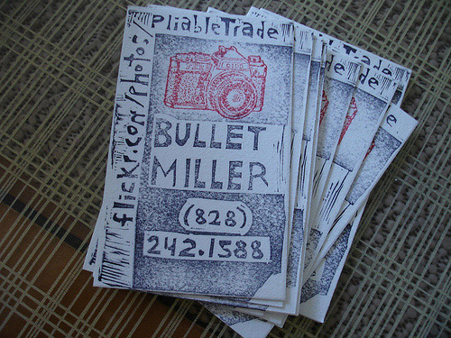 Business Card for: Bullet Miller