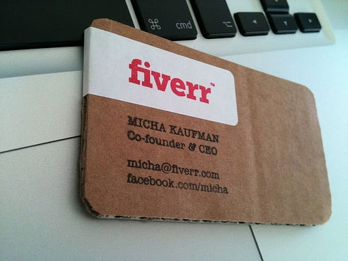 Business Card for: Fiverr