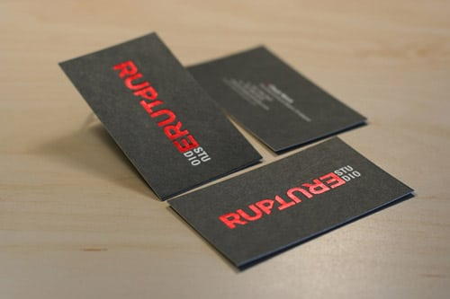 RUPTURE STUDIO - Printed at PremiumCards.net