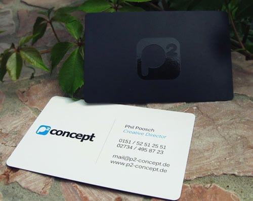 P2 concept - Business Card