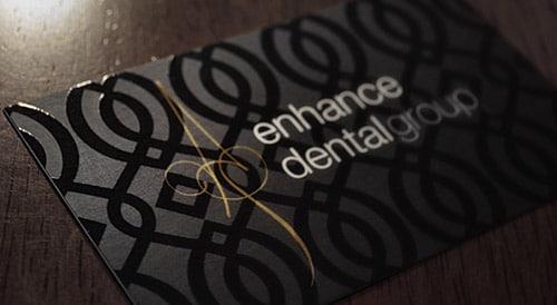 Enhance Dental Group Business Card