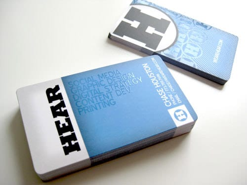 Business Card for: Hear Agency