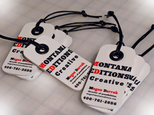 Business Card for: Montana Editions