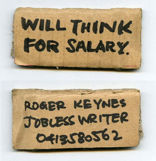 Business Card for: Roger Keynes