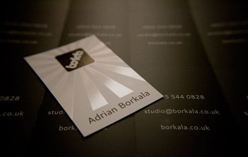 Spot Gloss Business Card By Adrian Borkala