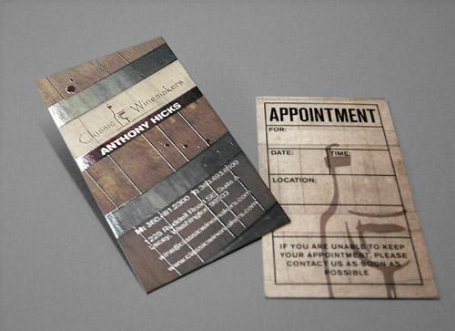 Spot UV Card By Preston Porter
