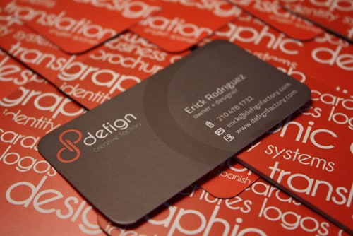 Defign Creative Factory Business Card
