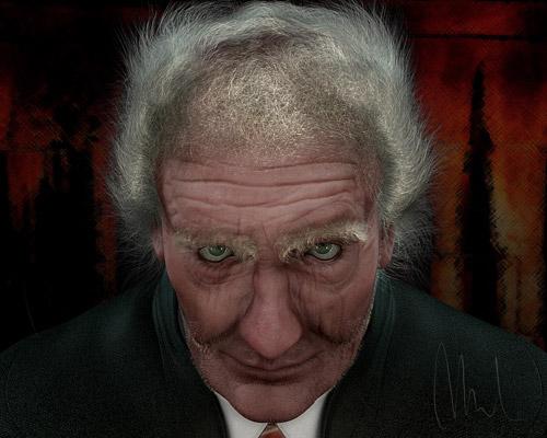 Old Bad Man by Manuel Manfredi