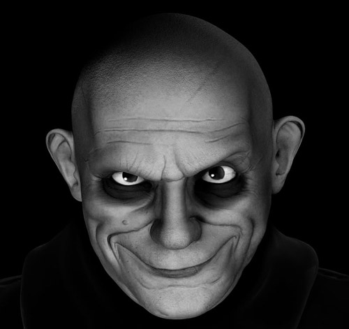 Uncle Fester by Pedro Aleixo