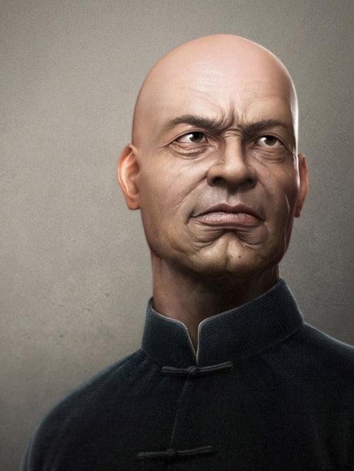 portrait by TEH GENE ERH