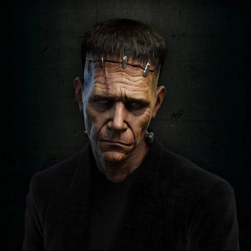 Frankenstein Monster by Anto Juricic Toni