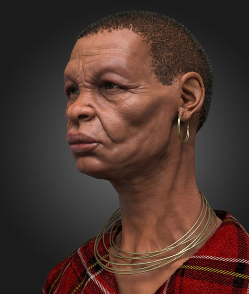 African Bust by Anto Juricic
