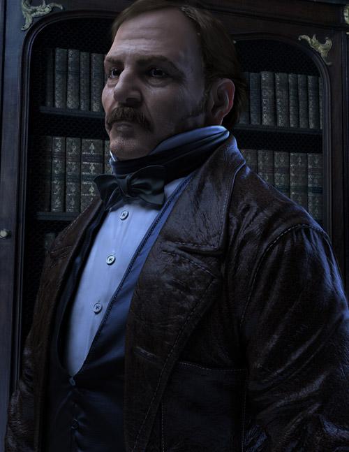 Allan Kardec by Giacobelli Pasquale