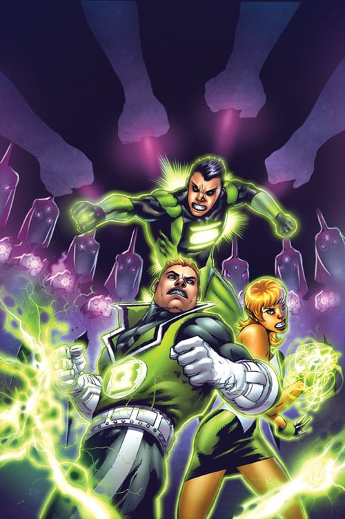 Green Lantern Corps 30 cvr by Bakanekonei