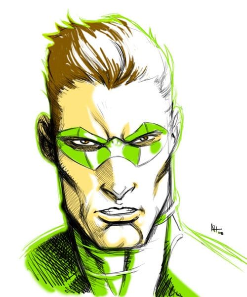 Green Lantern by aztekh