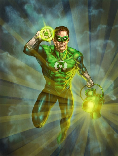 Green Lantern by Hungrysparrow