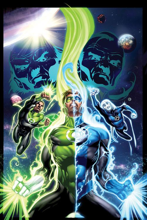 Green Lantern 41 alternate cvr by Bakanekonei
