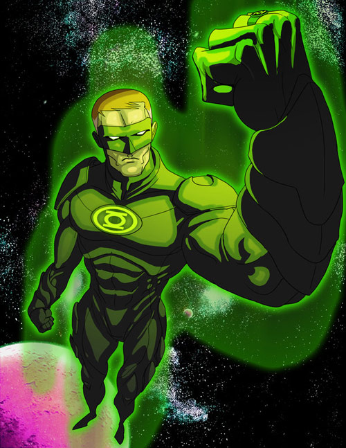 Green Lantern by fjd3art