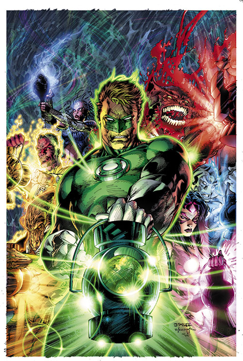 Green Lantern 50 variant cover by sinccolor