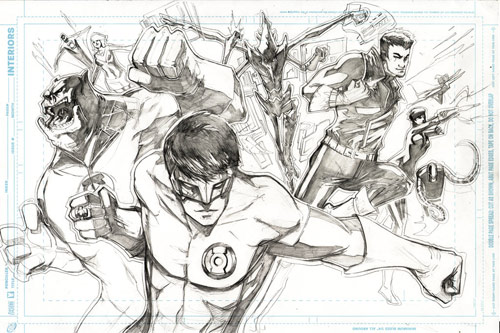 Green Lantern Corps by ink4884