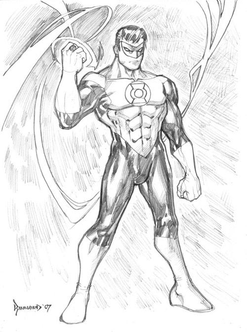 Green Lantern by RyanKinnaird