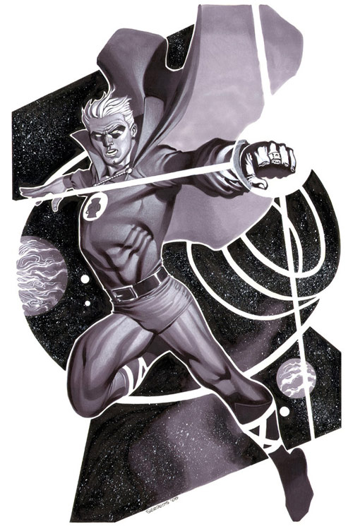 Green Lantern- Marker Illo by chriss2d