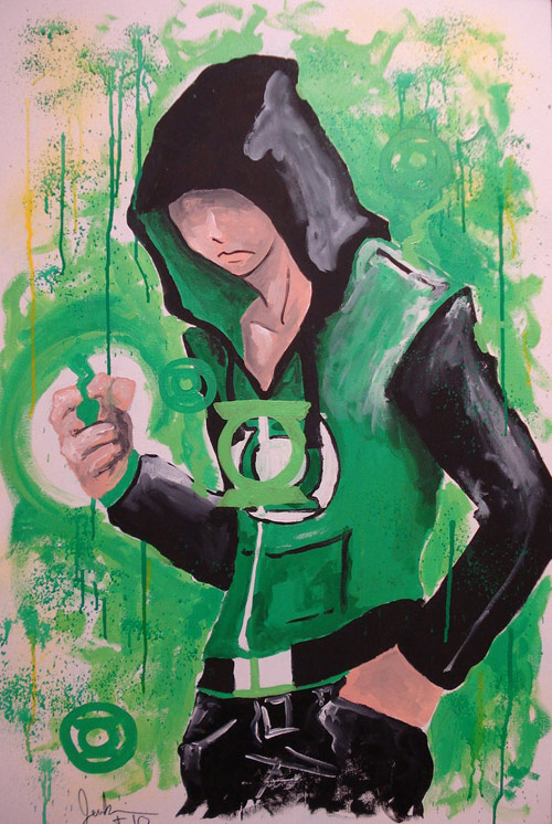 green lantern by Roxco82