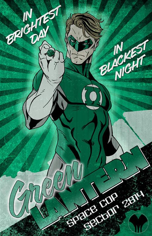 Green Lantern by ittamar12