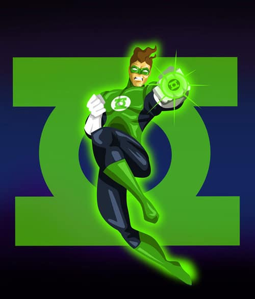 Green Lantern by Andres-Iles