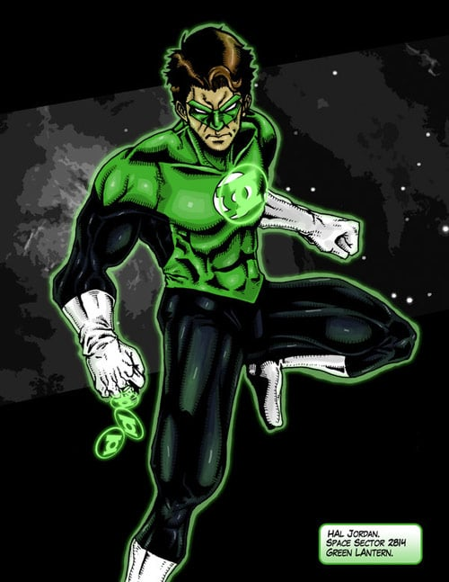 The Green Lantern by aaronturon
