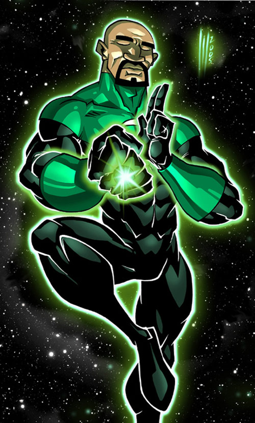Green Lantern by matattack