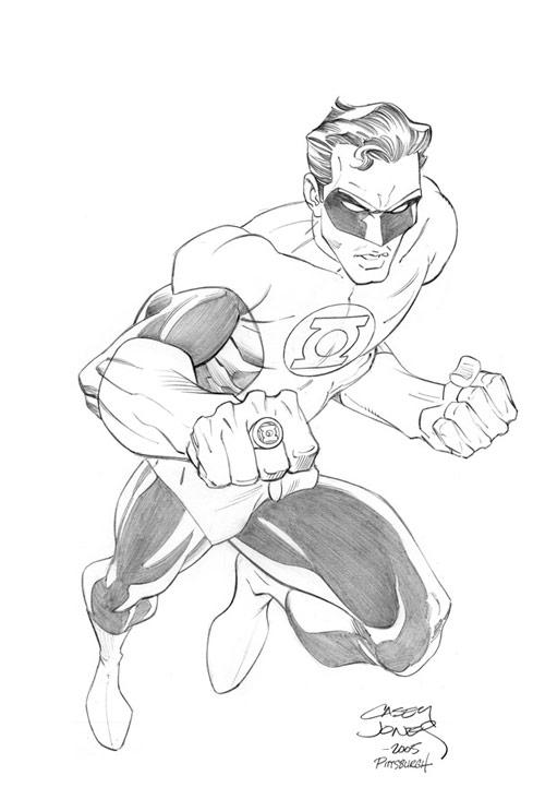 Green Lantern by CaseyJonesDA
