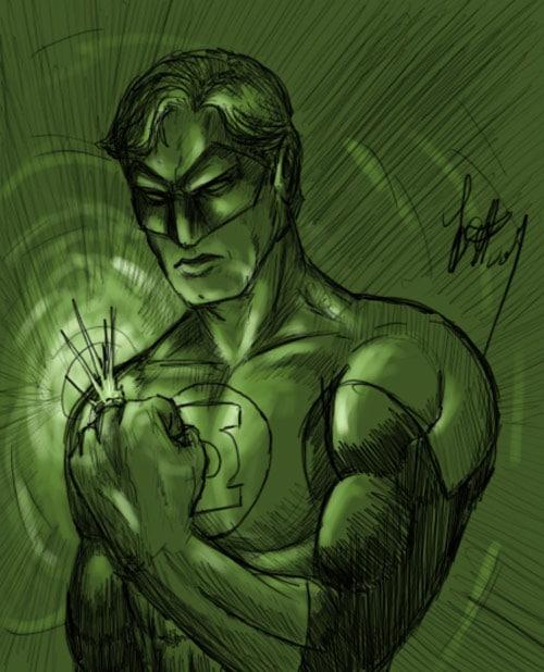 Green Lantern by beowulf716