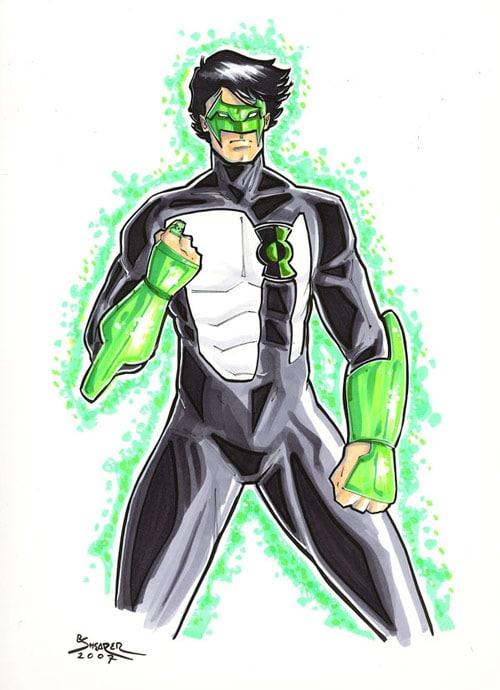 Kyle Rayner Green Lantern by gravyboy