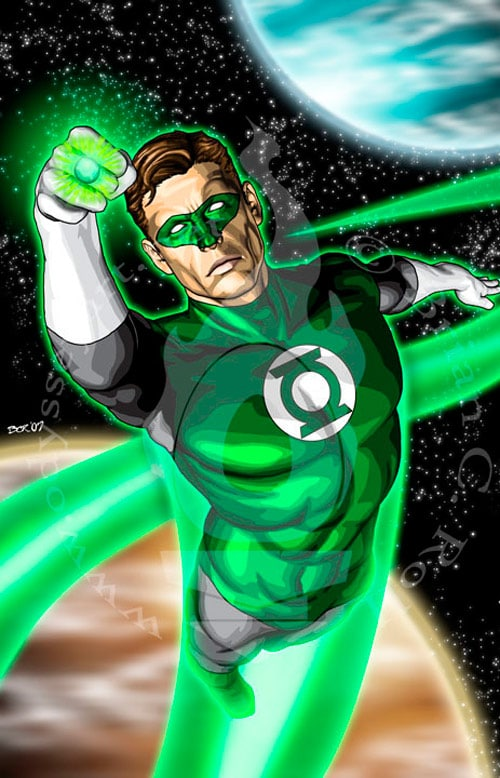 Green Lantern by odysseyart