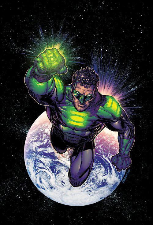 Green Lantern Covers by Brandon Peterson